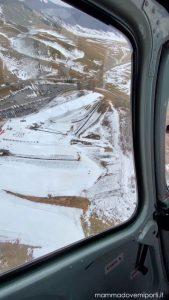 eliciaspolata a roccaraso panoramica dall'elicottero
