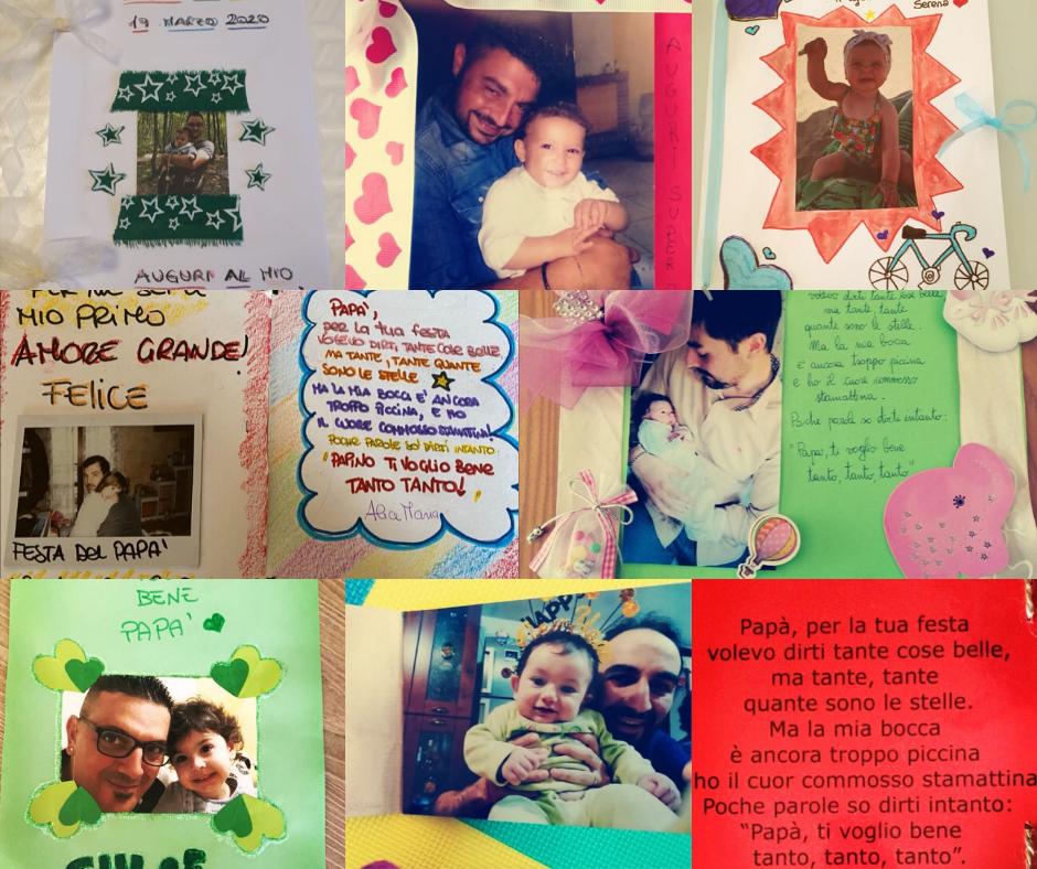 Festa del Papà dall'Asilo Nido Il Caffè dei Piccoli Artisti di Castelanuovo Vomano