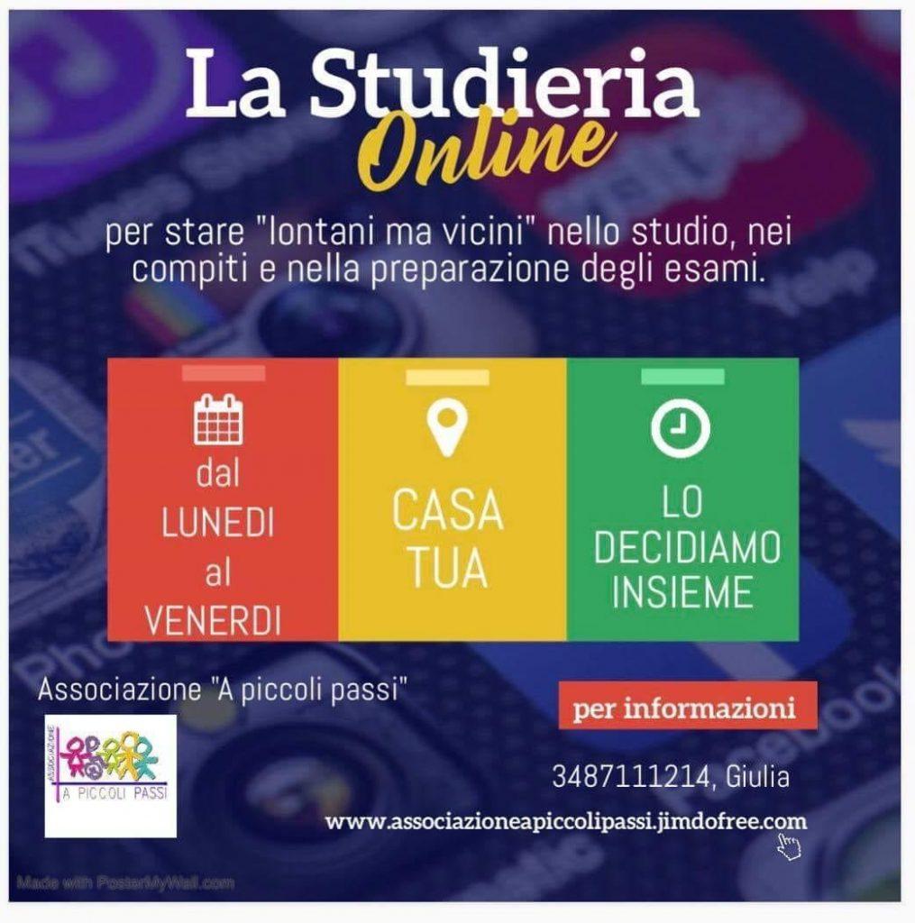 La Studieria on line di A Piccoli Passi