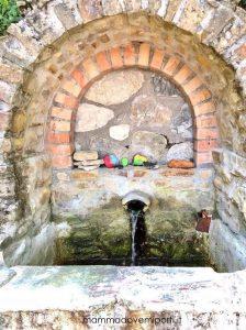 Fontana presso la Riserva Naturale Castel Cerreto