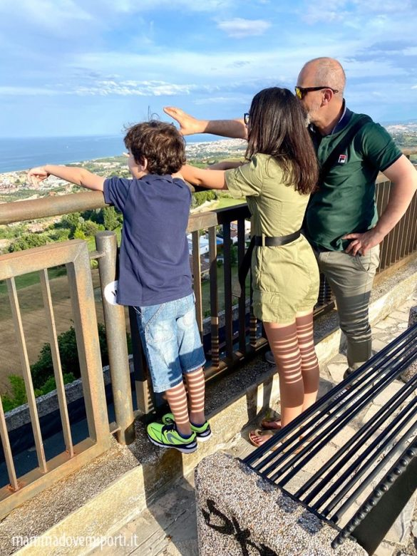 Belvedere di Tortoreto Alto con i bambini