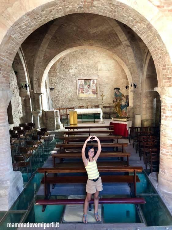 La piccola Chiesa dedicata a Sant'Anna protettrice delle madri e delle donne incinte, a Teramo