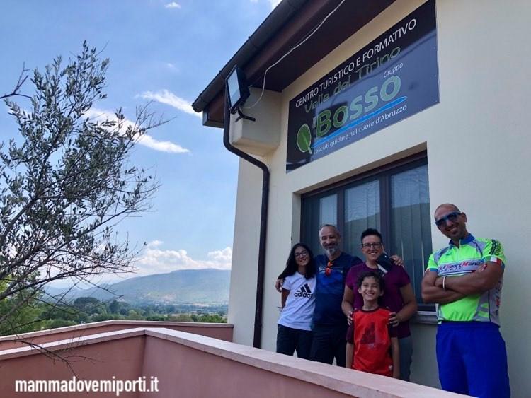Sede e partenza dell'escursione in e-bike con Il Bosso