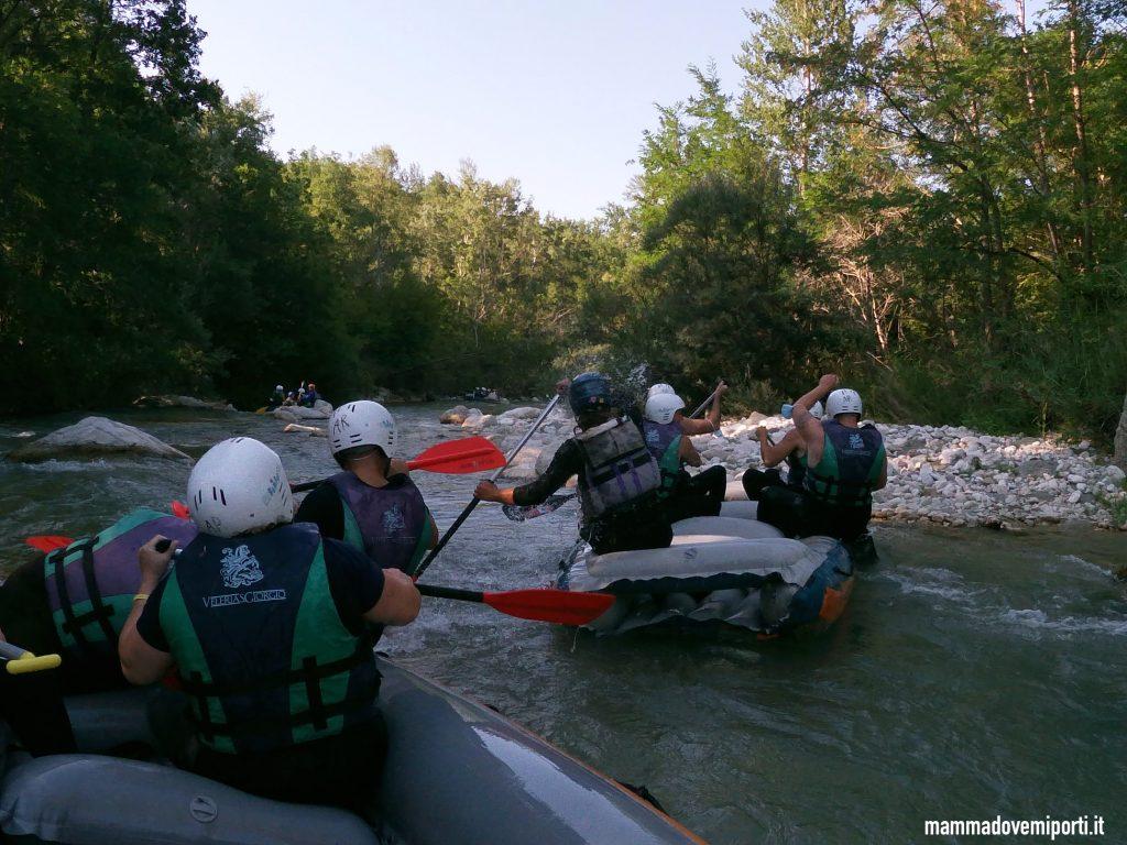Rafting per famiglie in Abruzzo sul Fiume Aventino