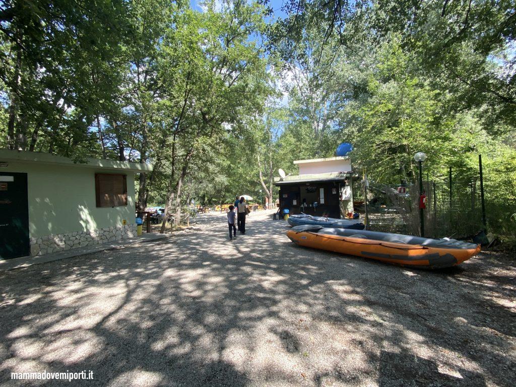 Ingresso Rafting per famiglie in Abruzzo