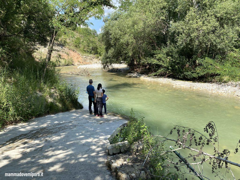 Fiume Aventino di Rafting per famiglie in Abruzzo