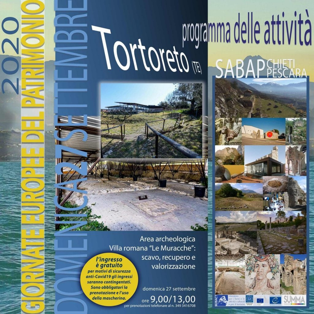 Visita area archeologica a Tortoreto