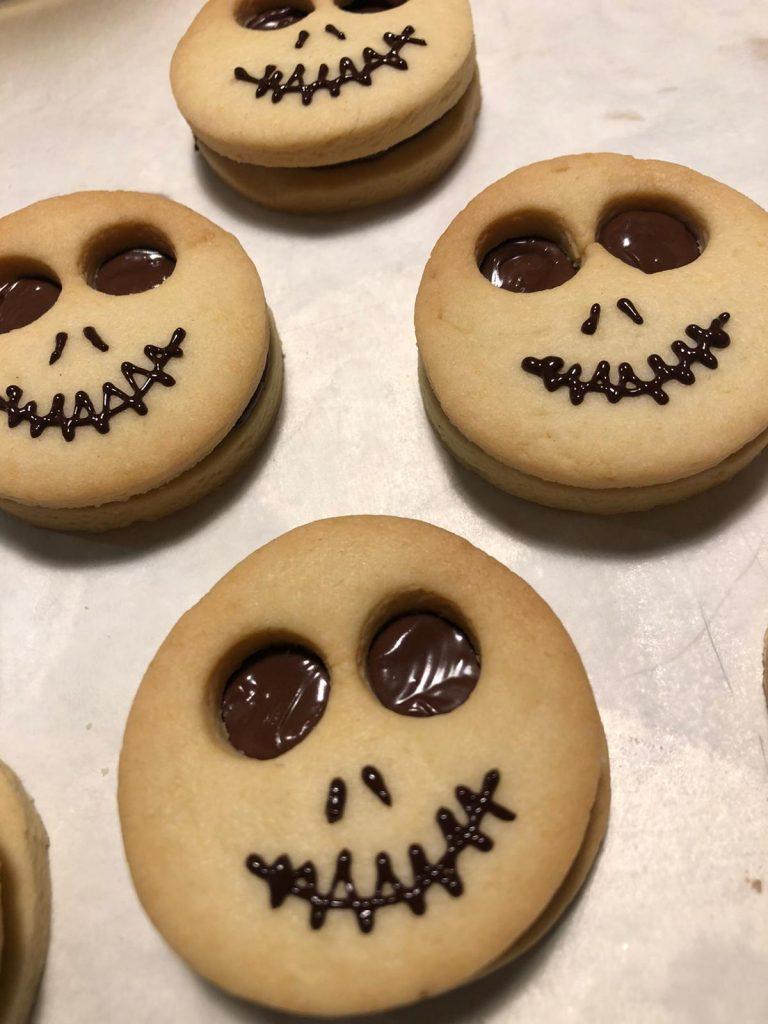 Teschi di Marisa per festeggiare Halloween a casa