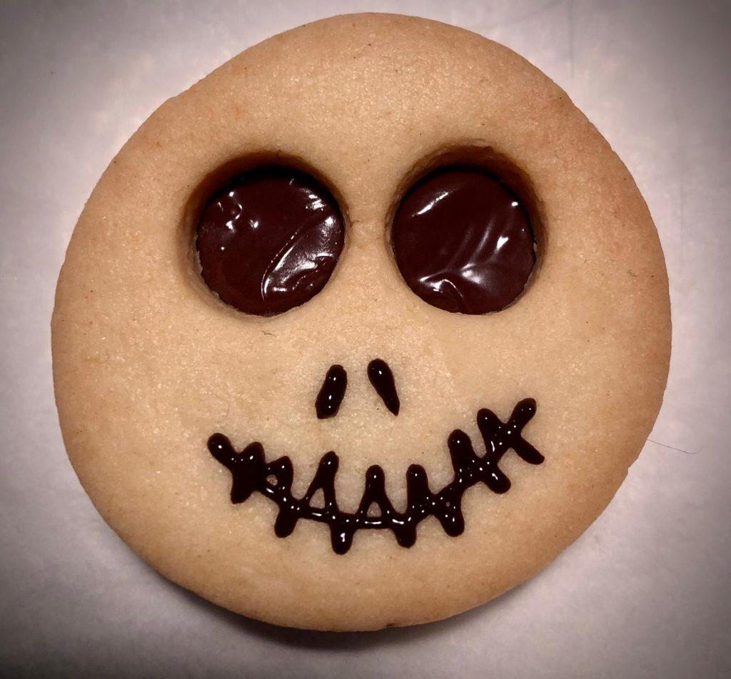 Teschio di Marisa per festeggiare Halloween a casa