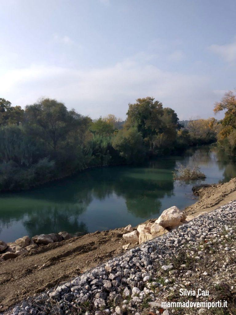 Piste ciclabili a Pescara: fiume Pescara Pista Ciclabile Parco Fluviale