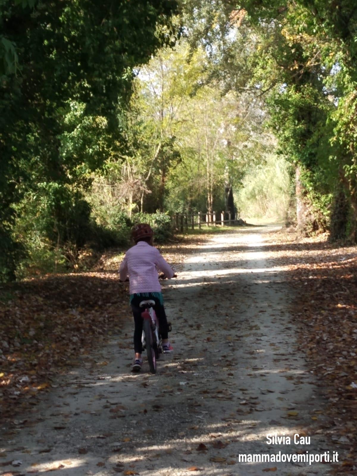Piste ciclabili a Pescara: Pista Ciclabile Parco Fluviale