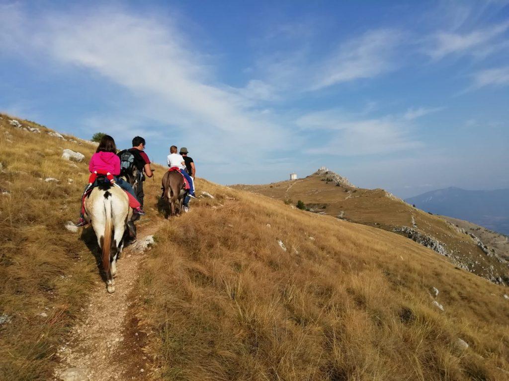 Escursioni con gli asini a Santo Stefano di Sessanio