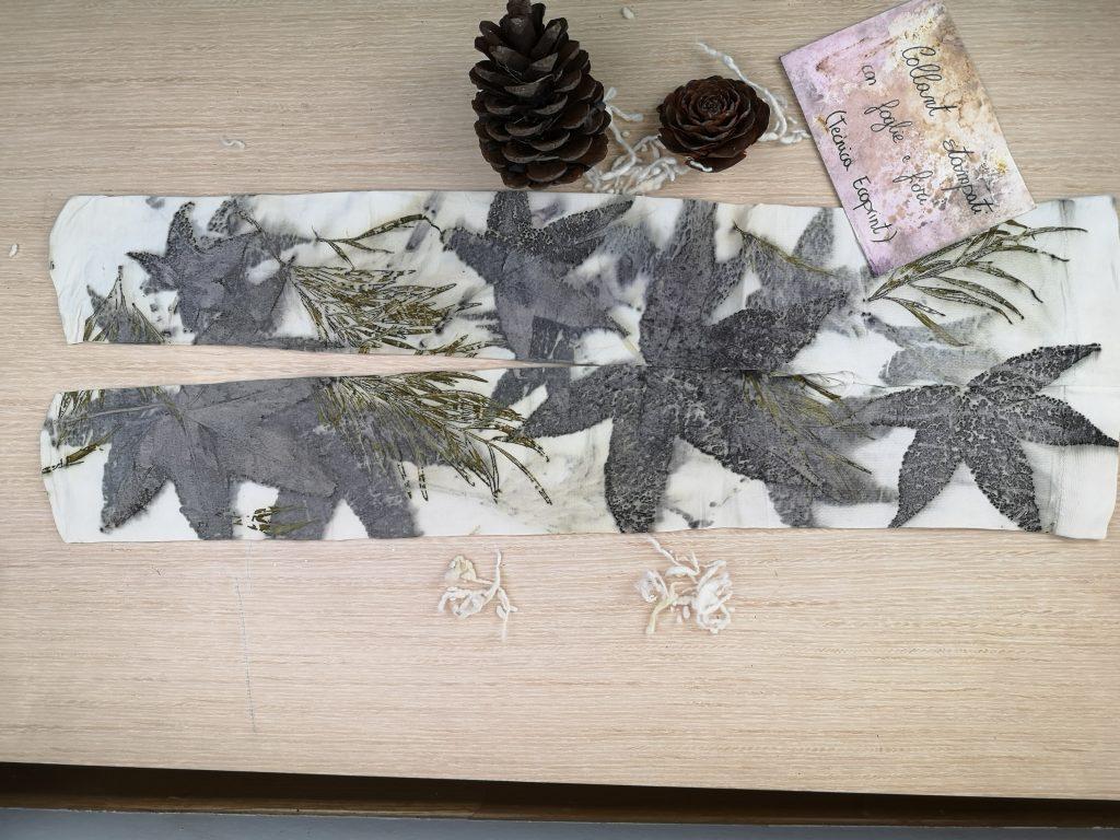Regali di Natale 2020: idee regalo di Sogni di Cinzia, collanti stampati in foglie e fiori
