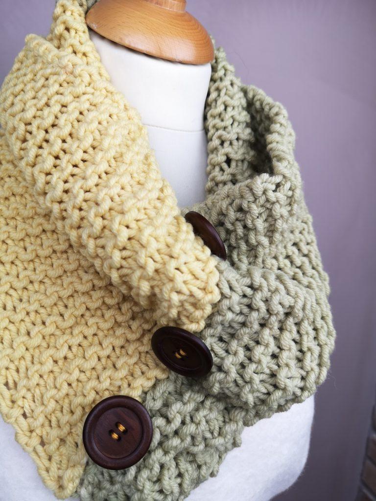 Regali di Natale 2020: idee regalo di Sogni di Cinzia, collo di lana ad uncinetto con lana abruzzese