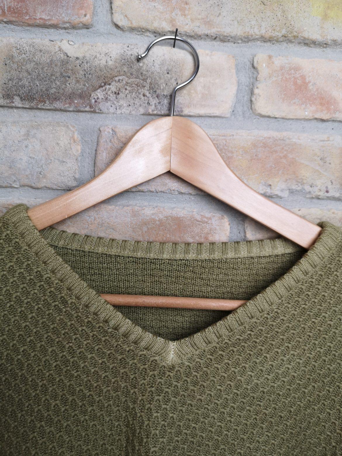 Regali di Natale 2020: idee regalo di Sogni di Cinzia, dettaglio maglione da uomo