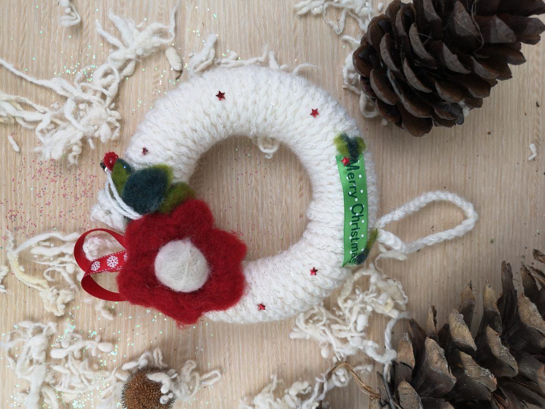 Regali di Natale 2020: idee regalo di Sogni di Cinzia, ghirlanda in lana