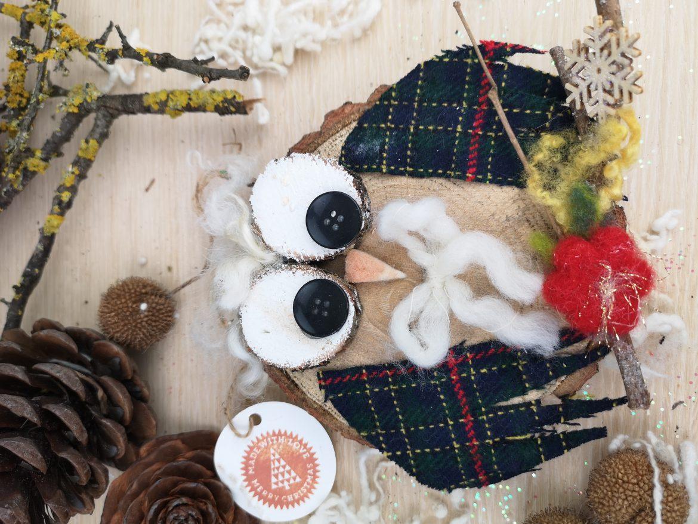 Regali di Natale 2020: idee regalo di Sogni di Cinzia, gufetto in legno