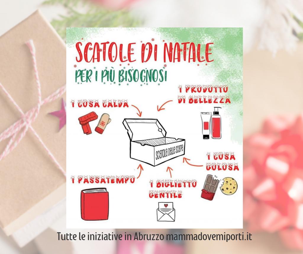 Scatole di Natale in Abruzzo i numeri della raccolta per provincia