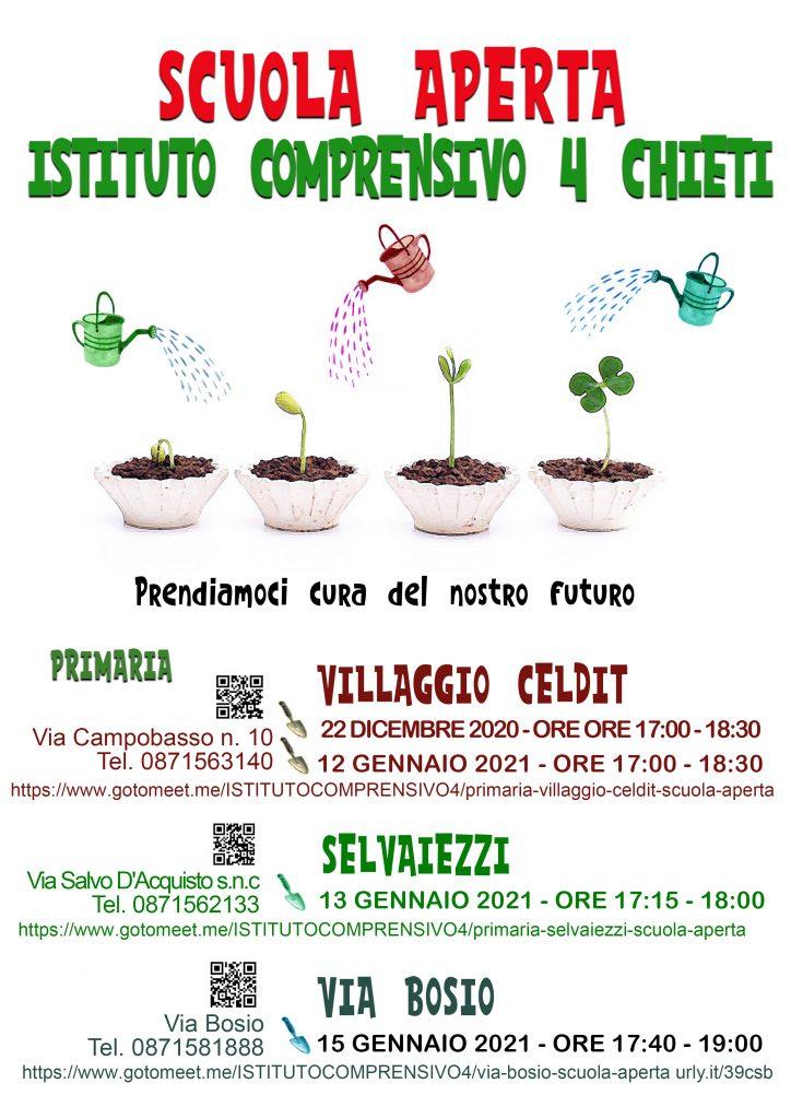 Open Day 2021 Scuole di Chieti Primaria Istituto Comprensivo Chieti 4