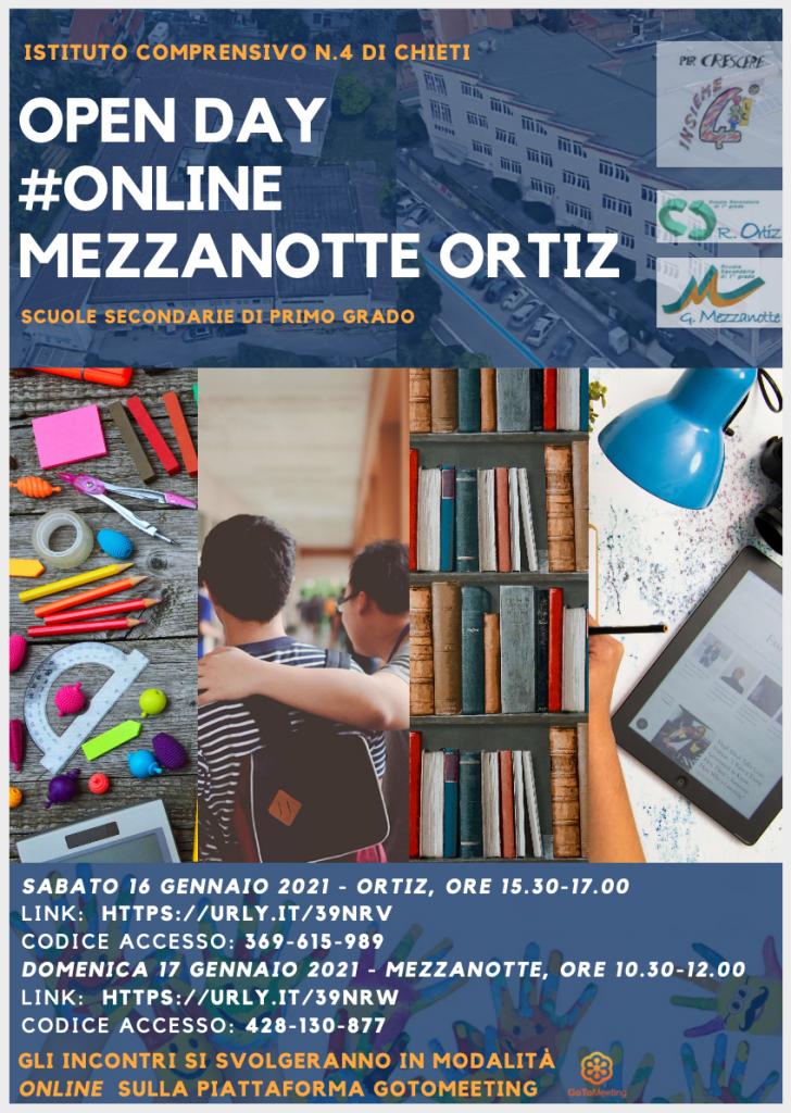 Open Day 2021 Scuole di Chieti Secondaria Istituto Comprensivo Chieti 4