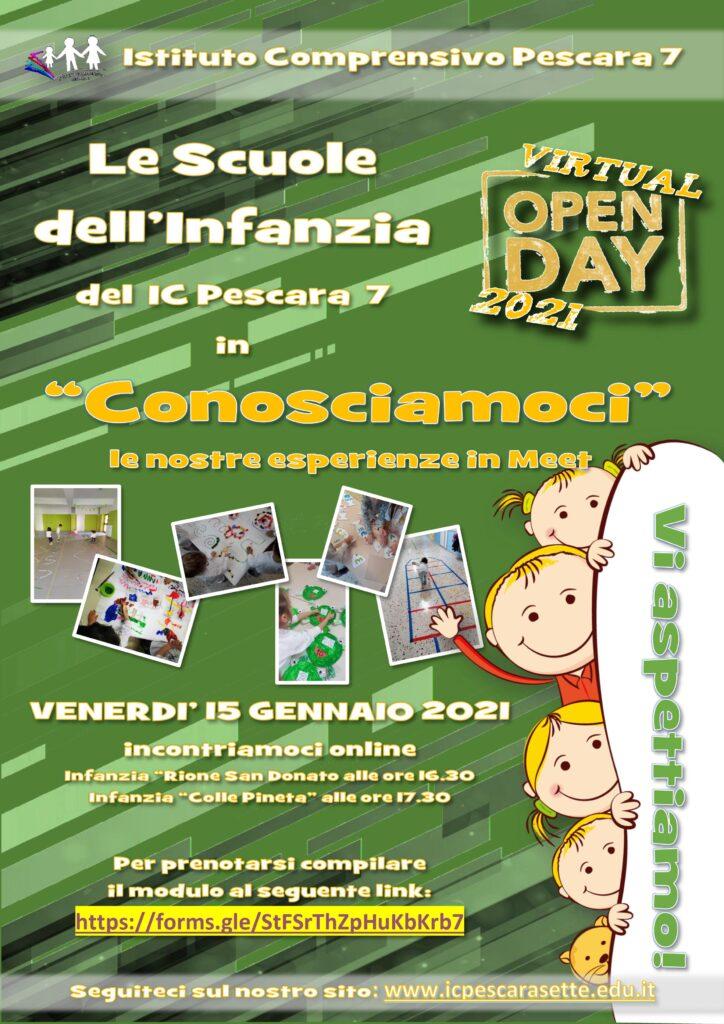 Open Day Infanzia Istituto Comprensivo 7 Pescara