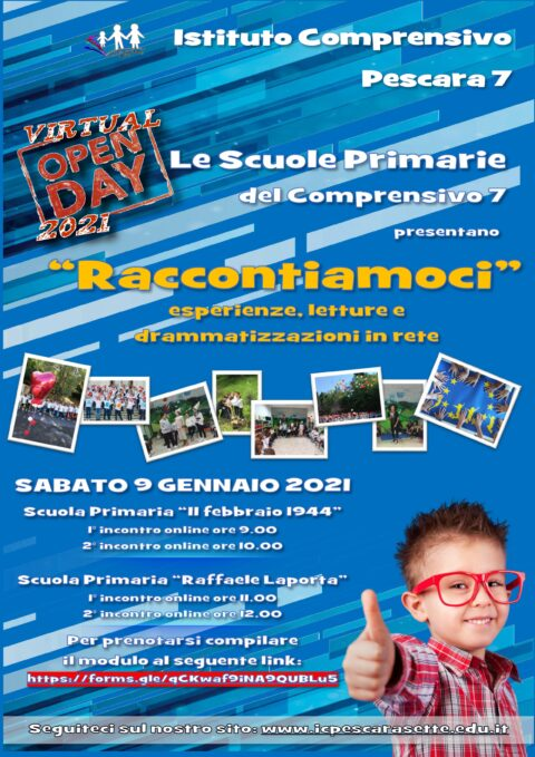 Open Day Primaria Istituto Comprensivo 7 Pescara