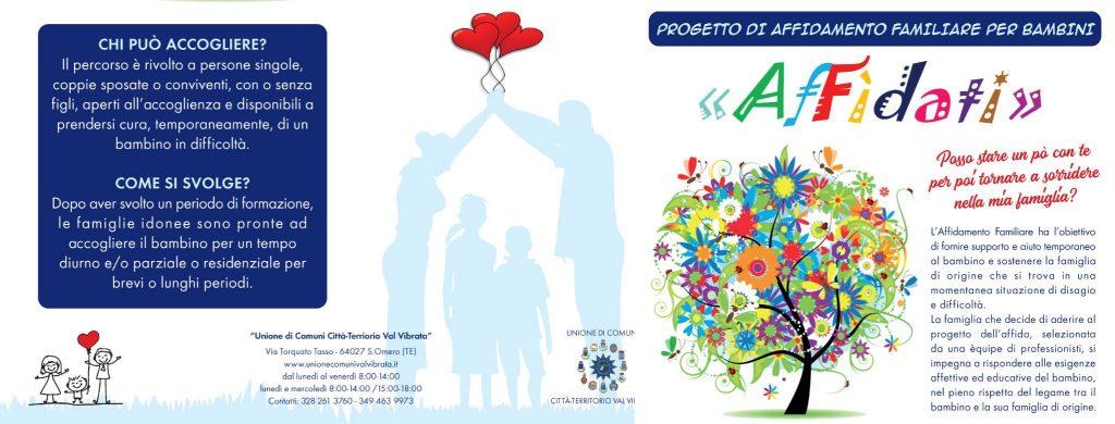 Affidamento familiare per bambini in Val Vibrata