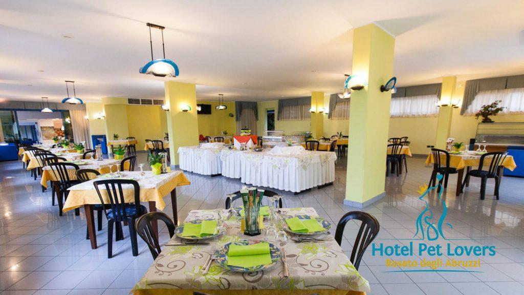 Hotel Marina sala colazione