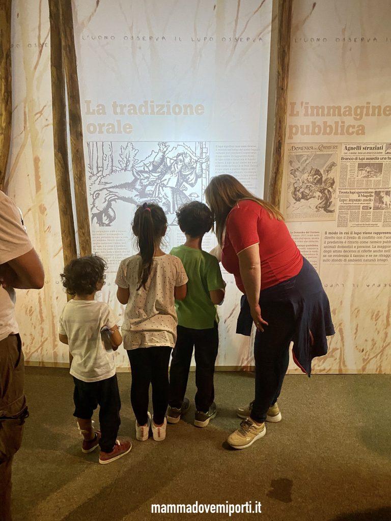 Museo del Lupo di Arsita con la guida