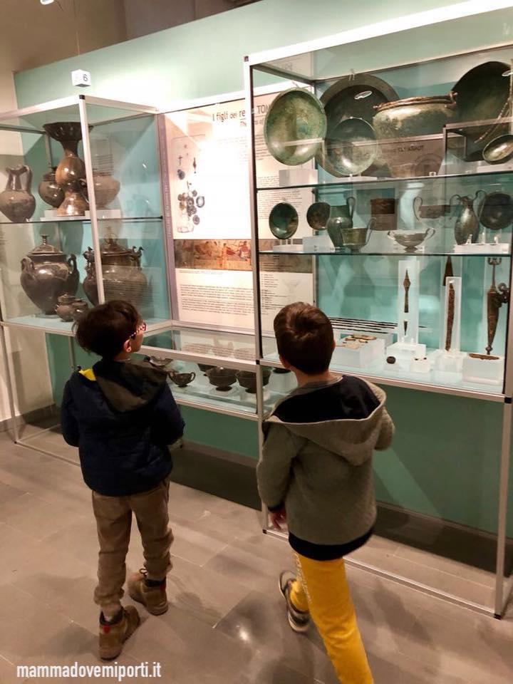 Visita al Museo Archeologico Nazionale di Campli con i bambini