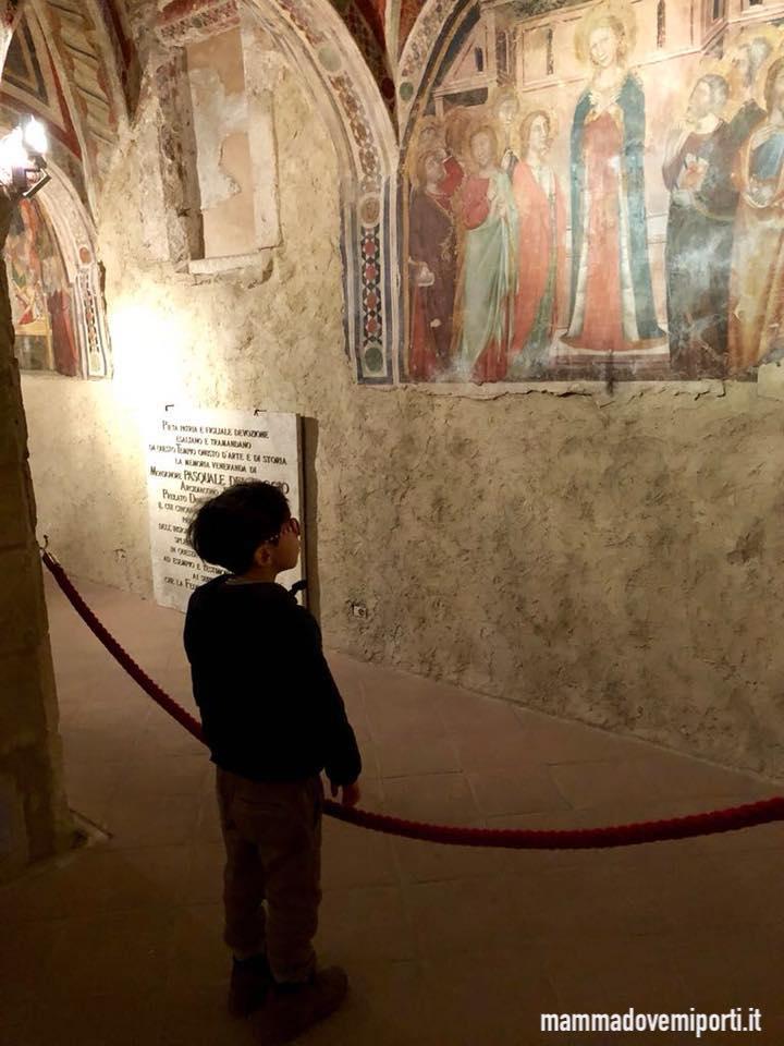 Visita alla Cripta della Cattedrale Santa Maria in Platea