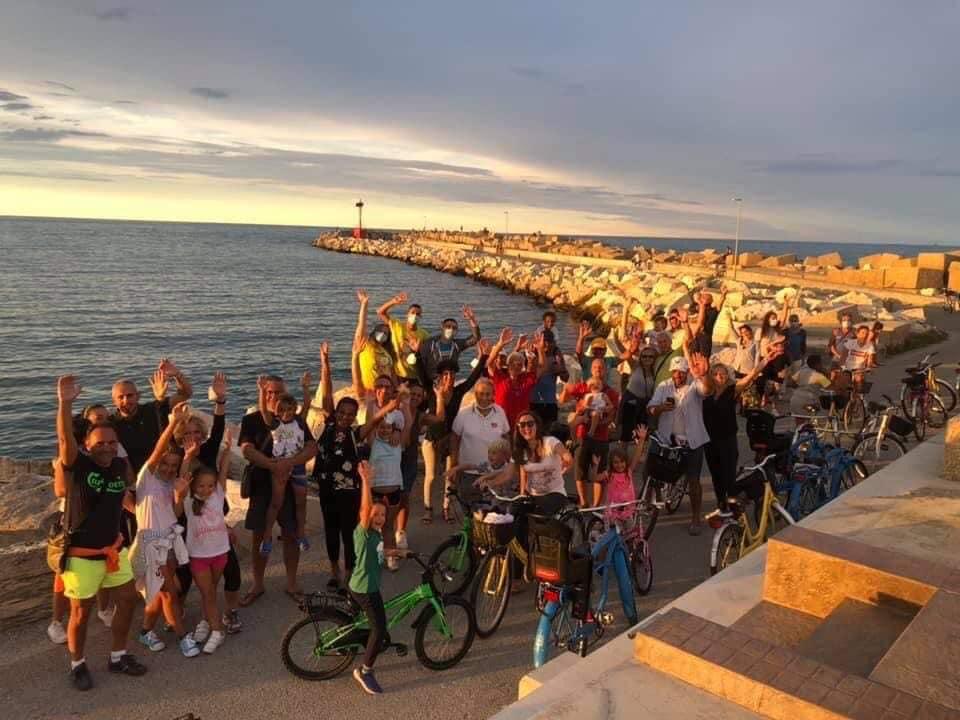 Biciclettata al porto dell'Hotel Baltic di Giulianova