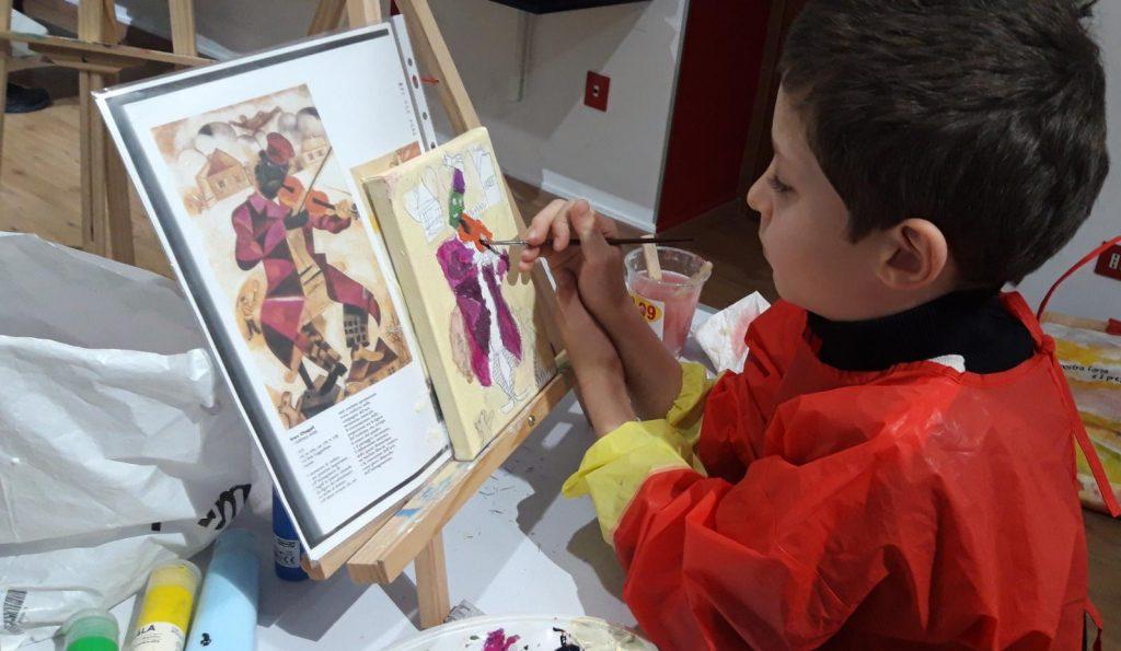 Lezione di Pittura all'Accademia delle Arti di Pescara