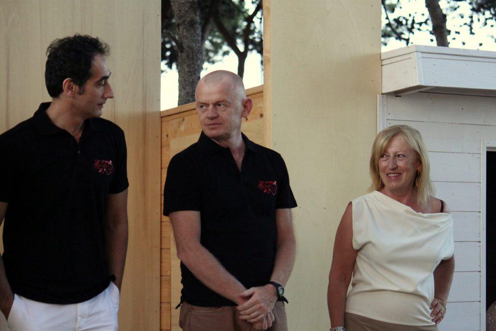 Massimo, Giorgio e Paola di Hotel Baltic di Giulianova