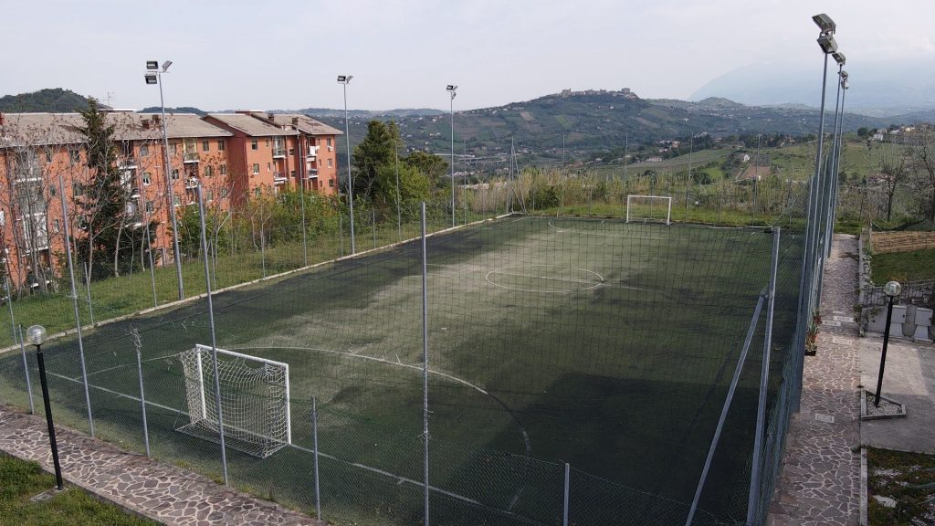 Pala Teate a Chieti dove si svolgerà il Campo estivo A Tutto Sport
