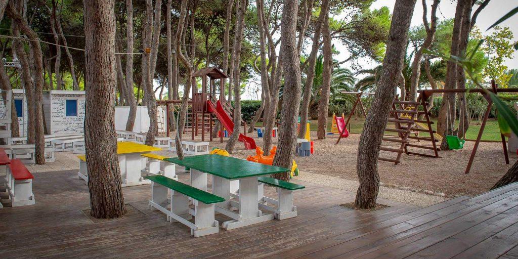Parco giochi hotel baltic di Giulianova