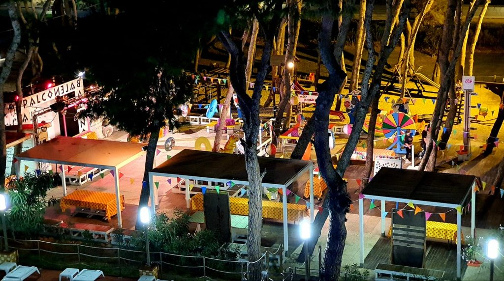 Serata Luna Park di Hotel Baltic di Giulianova