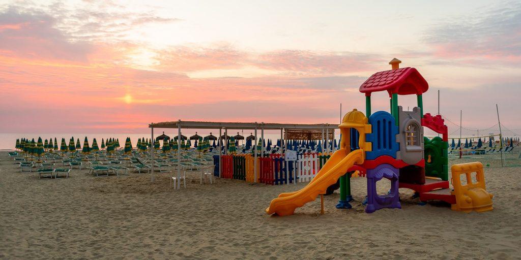 Spiaggia di Hotel Baltic