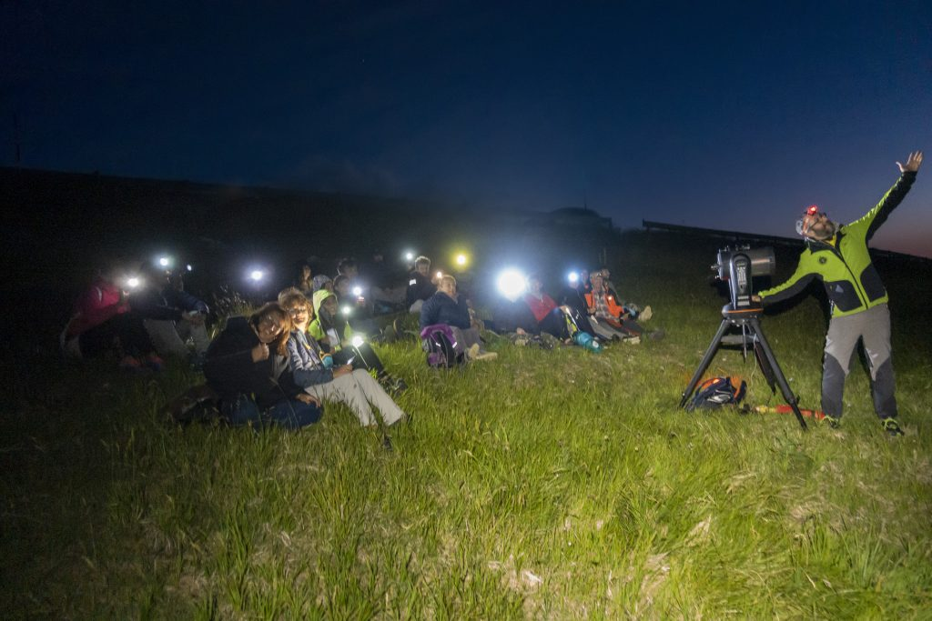 Astrotrekking sulla Maiella con escursione e osservazione degli astri