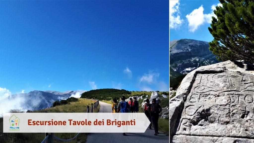 Escursione Tavole dei Briganti