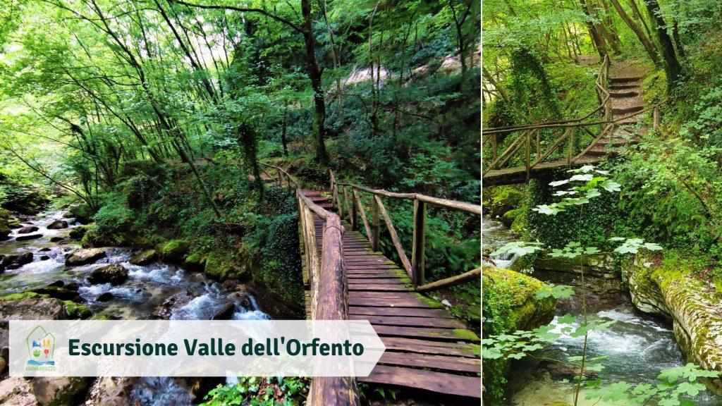 Escursione Valle dell'Orfento per bambini