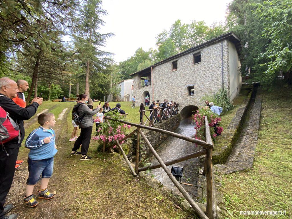 Festa del Grano e del Pane ad Arsita Visita al Mulino Di Francesco