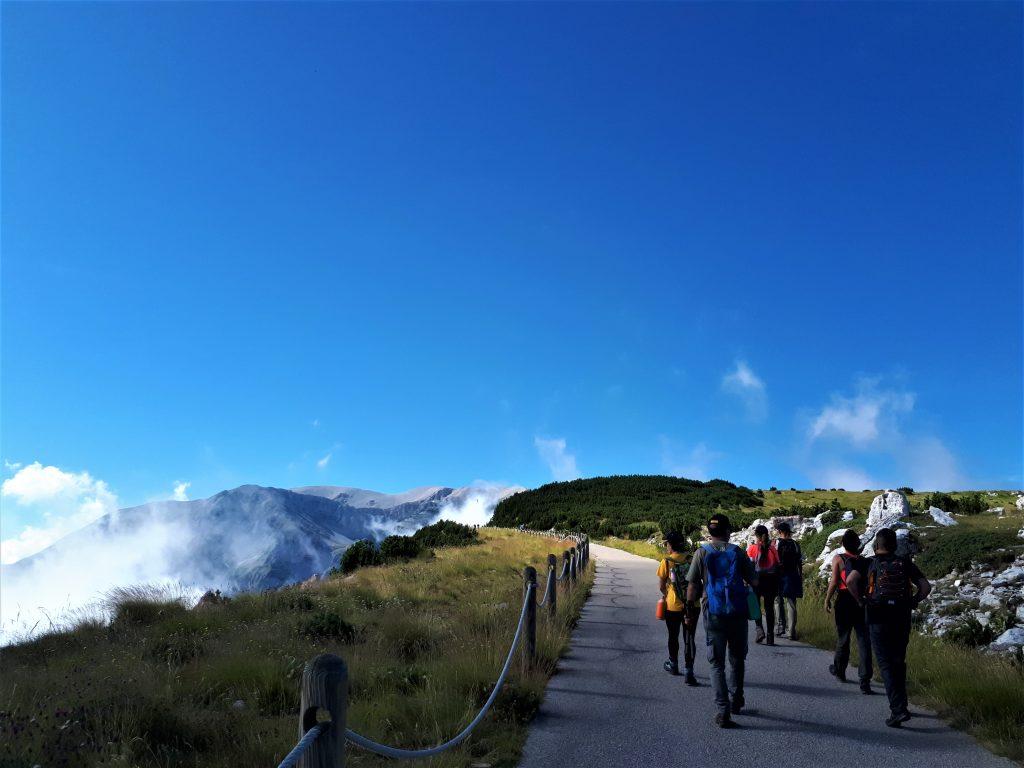 Escursione alle Tavole dei Briganti nel Parco Nazionale della Maiella