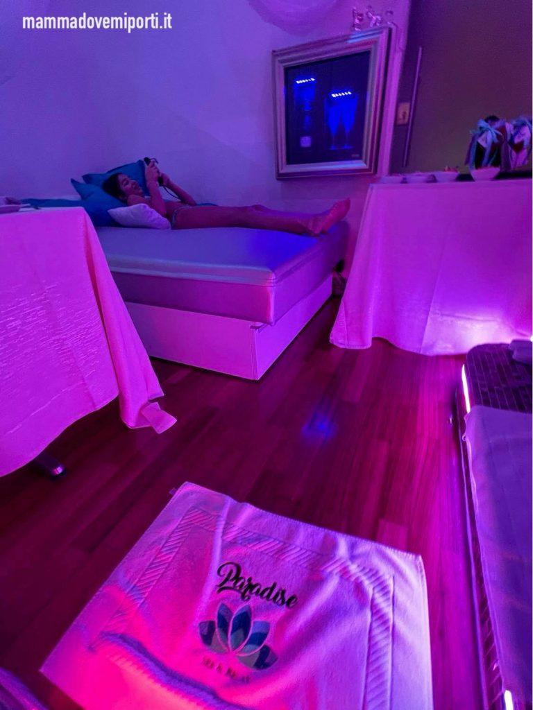 Private SPA da Paradise SPA & Relax a Chieti con letto massaggiante