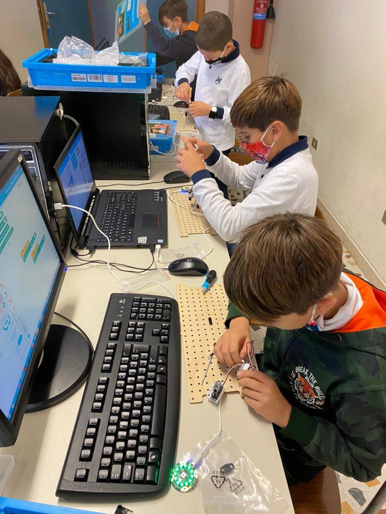 Laboratori delle discipline STEM di Steam Camp 2021