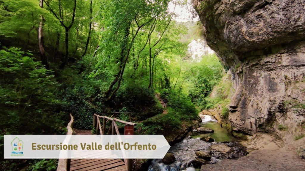 Valle dell'Orfento Escursione adatta alle famiglie