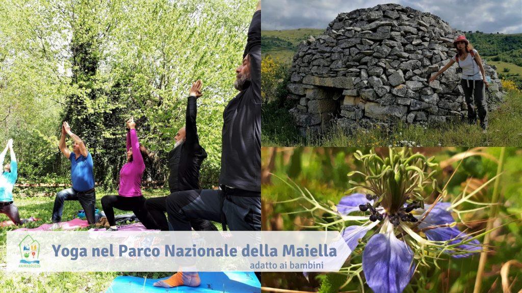 Yoga nel Parco Nazionale della Maiella adatto ai bambini