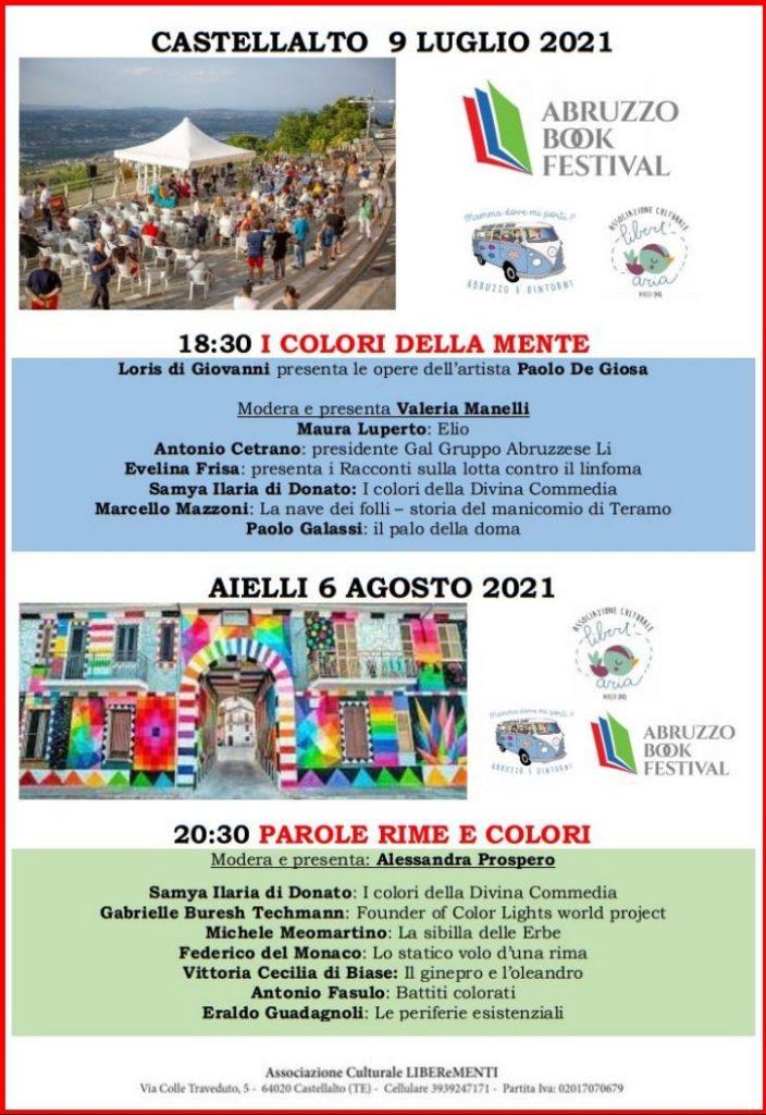 Abruzzo Book Festival il festival del libro raddoppia