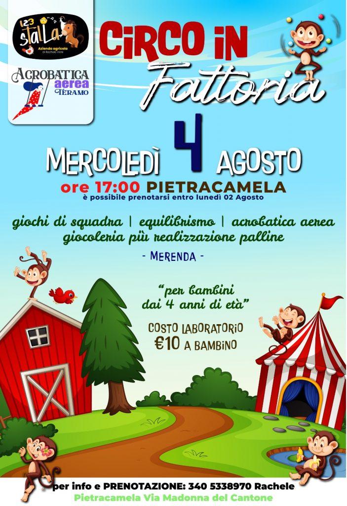 Circo in Fattoria a Pietracamela