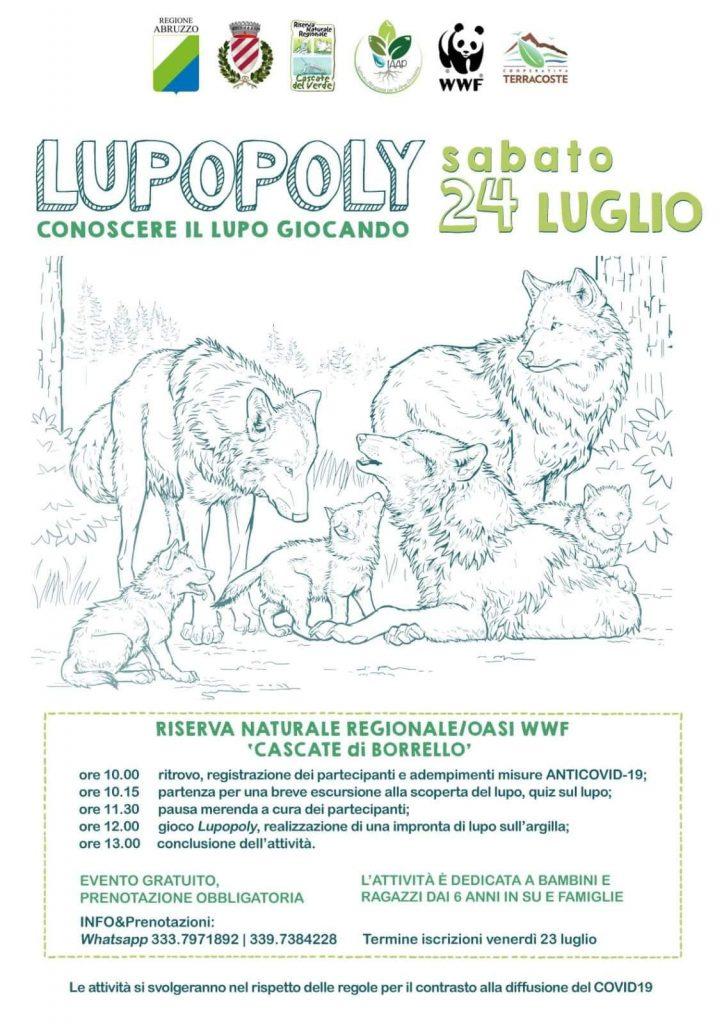 Evento per bambini Cascate del Borrello
